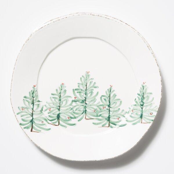 Lastra Holiday Round Platter by VIETRI