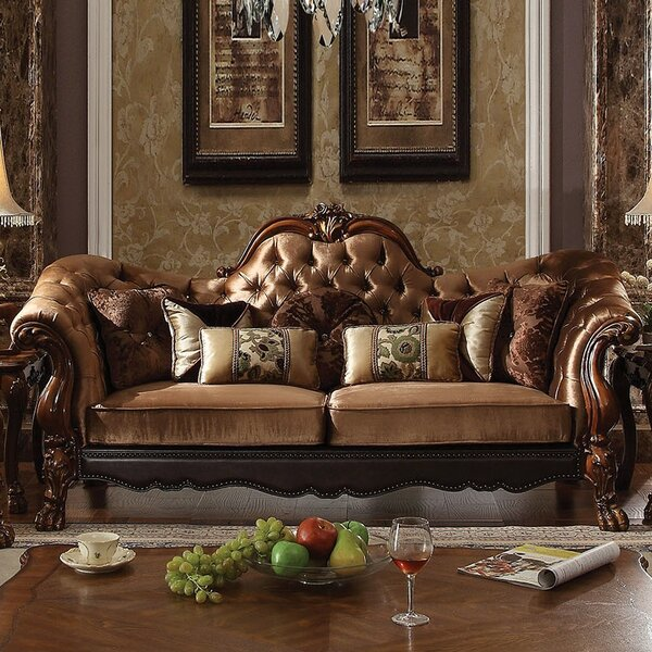 Westmont Sofa with 7 Pillows by Astoria Grand