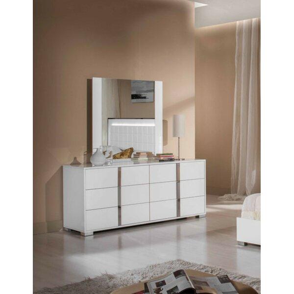 Demaria 6 Drawer Double Dresser by Orren Ellis