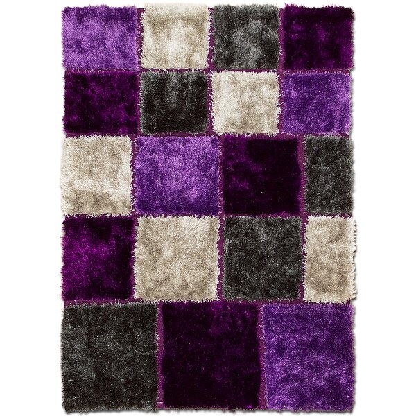 Hand-Tufted Purple Area Rug by AllStar Rugs