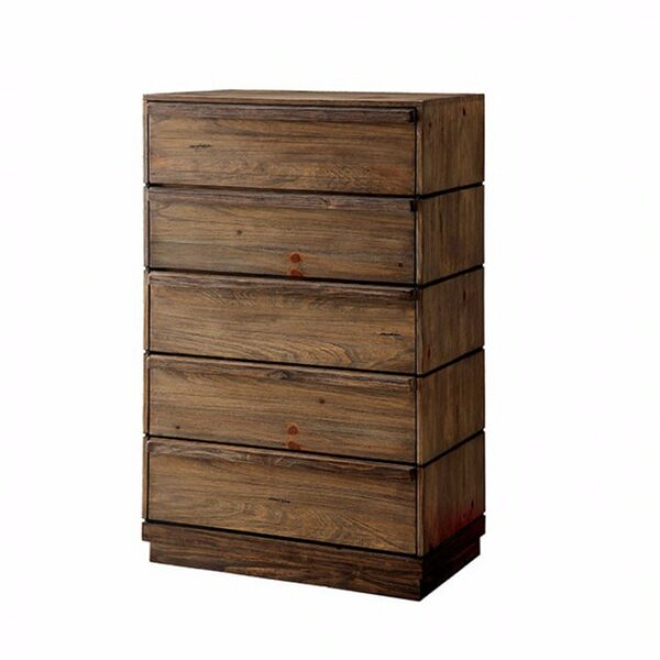Wieczorek Vintage 5 Drawer Chest by Loon Peak