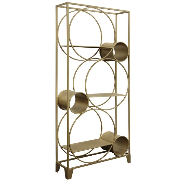 Rooney Geometric Bookcase By Everly Quinn