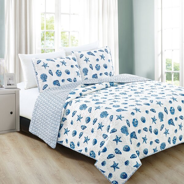 Juliana Reversible Quilt Set by Highland Dunes