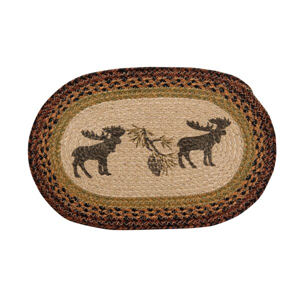 Selke Moose Lodge Placemat (Set of 4) by Loon Peak