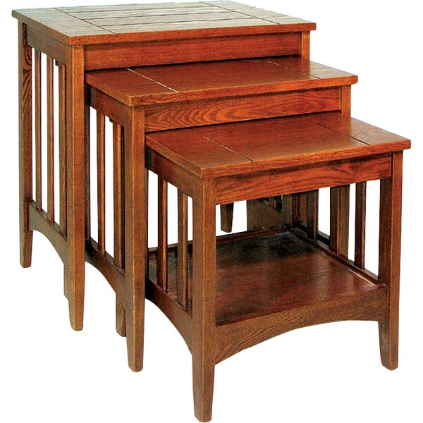 Shrout 3 Piece Nesting Tables By World Menagerie