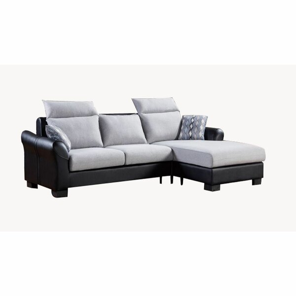 Headland Upholstered Reversible Modular Sectional (Set of 2) by Orren Ellis