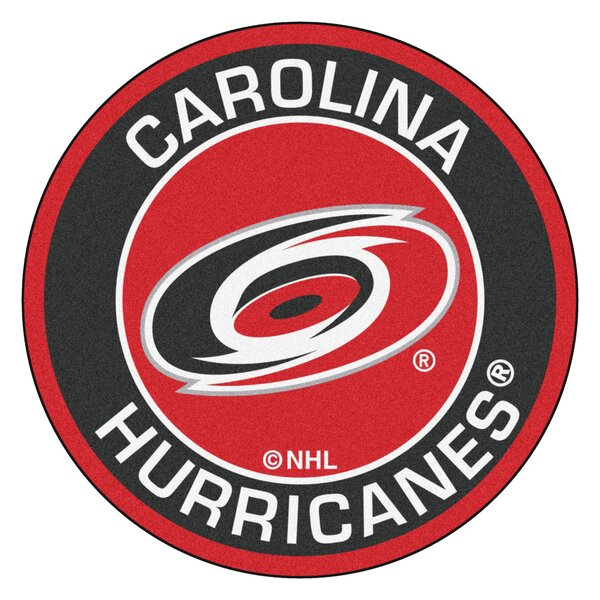 NHL Carolina Hurricanes Roundel Mat by FANMATS