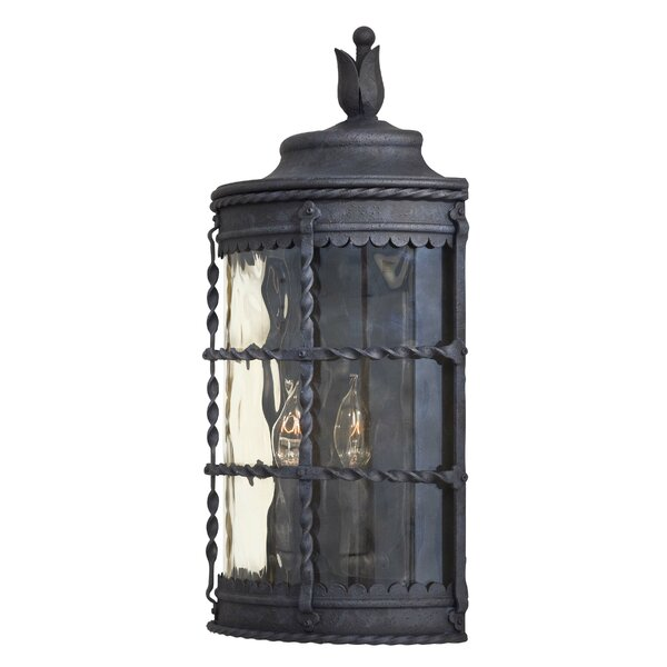 Calem 2-Light Outdoor Wall Lantern by Gracie Oaks