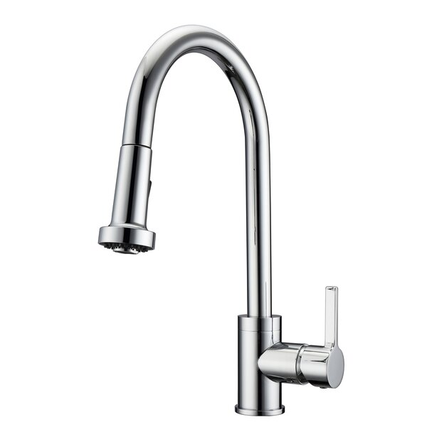 Fairchild Pull Down Single Handle Kitchen Faucet by Barclay