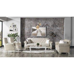 Beige Living Room Set by Rosdorf Park