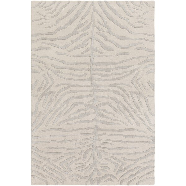 Langner Handmade Light Gray/Beige Area Rug by House of Hampton