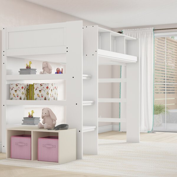 Gobeil Bunk Bed with Shelves by Mack & Milo