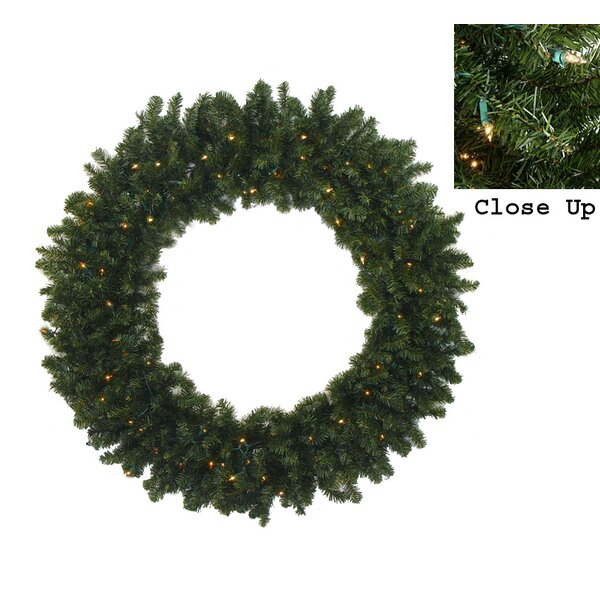 Pre-Lit Canadian Pine Artificial Christmas Garland by Darice