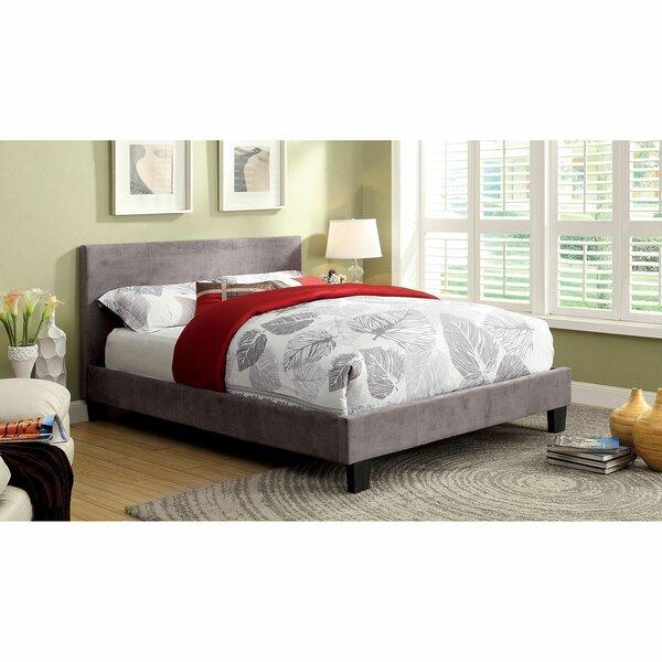 Jago Upholstered Platform Bed by Orren Ellis