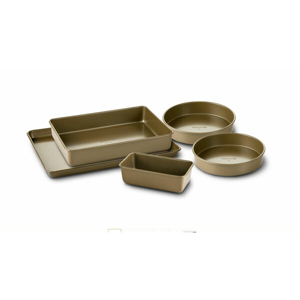Simply Nonstick 5 Piece Bakeware Set by Calphalon