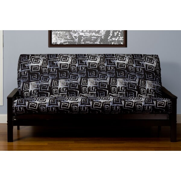 Archambault Zipper Box Cushion Futon Slipcover by Latitude Run