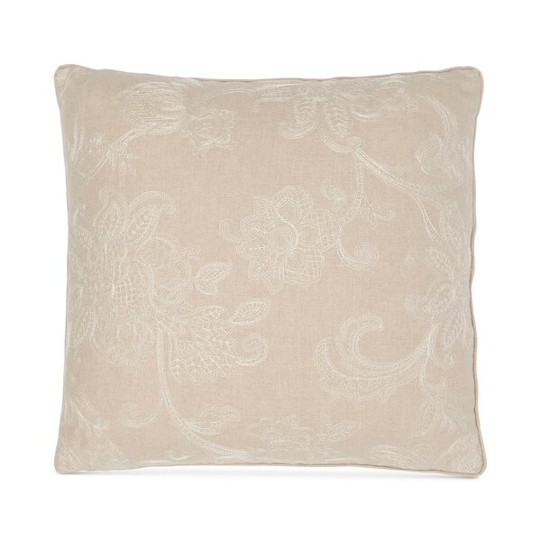 Delphiniums Throw Pillow by Sanderson