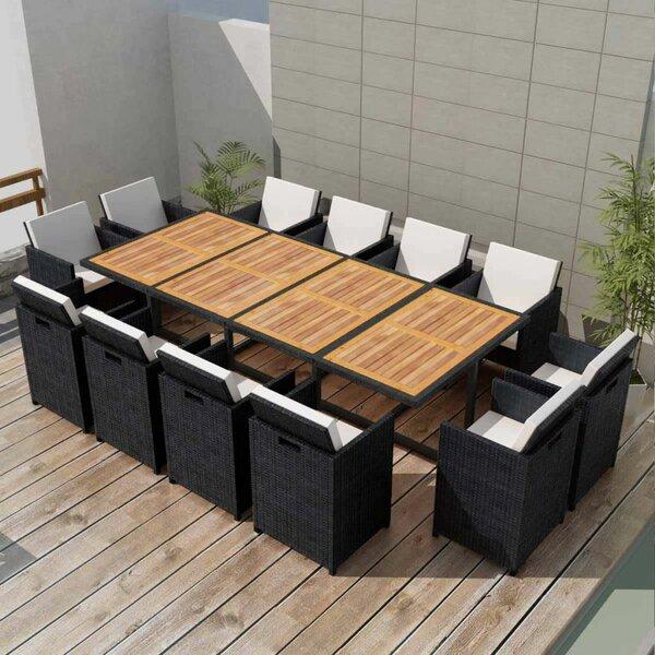 Goodrich 13 Piece Dining Set with Cushions by Brayden Studio