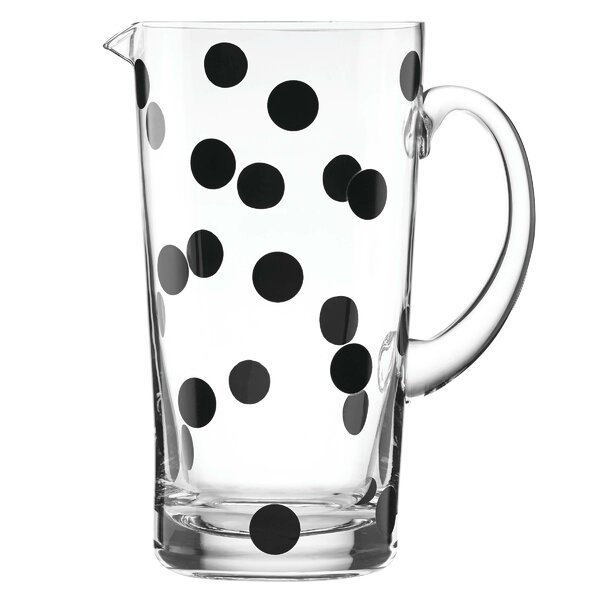 All in Good Taste Deco Dot Pitcher by kate spade n