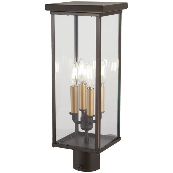 Maultsby Outdoors 4-Light Lantern Head by Gracie Oaks