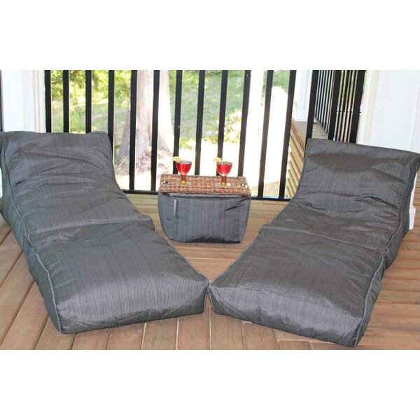 Cull Outdoor Waterproof Large Bean Bag Set By Red Barrel Studio