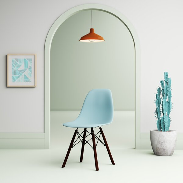 Tanner Molded Plastic Dining Chair by Hashtag Home