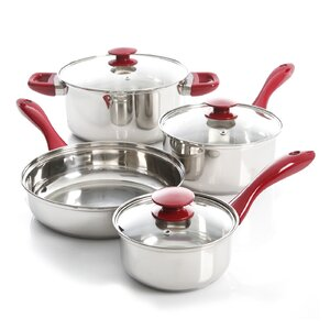 7 Piece Stainless Steel Cookware Set