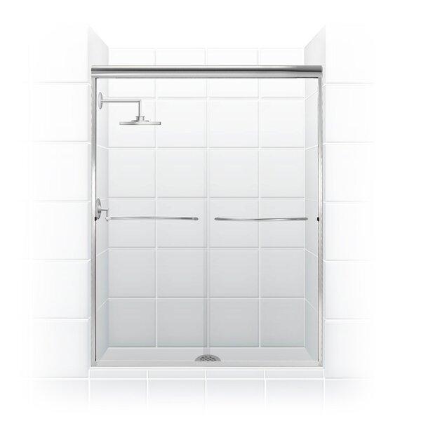 Paragon Series 48 x 71 Bypass Frameless Shower Door by Coastal Shower Doors