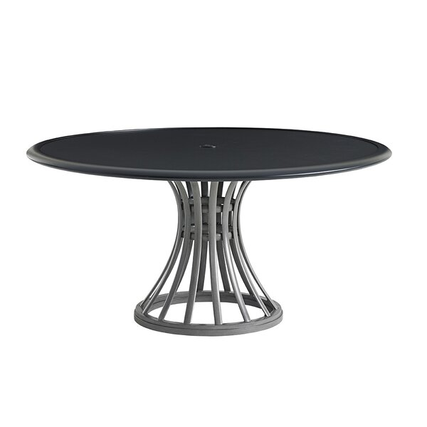 Del Mar Aluminum Dining Table by Tommy Bahama Outdoor