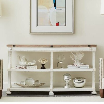 Flip Console Table Table Base White img
