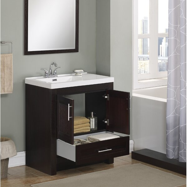 Duprey 31 Single Bathroom Vanity by Wrought Studio