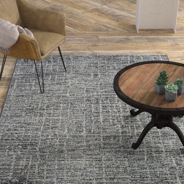Andover Woven Pewter Area Rug by Williston Forge