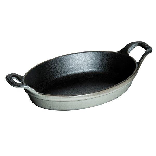 Cast Iron 6 Oval Gratin Baking Dish by Staub