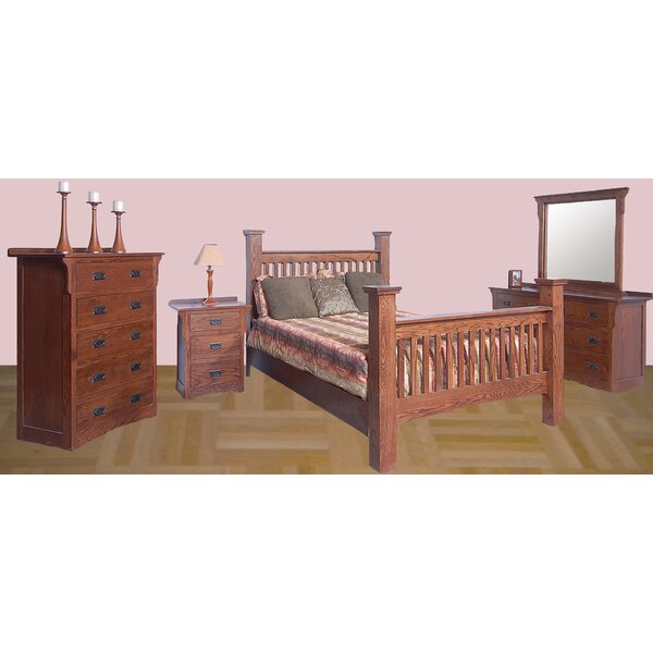 Chassidy Queen Panel Configurable Bedroom Set by Loon Peak