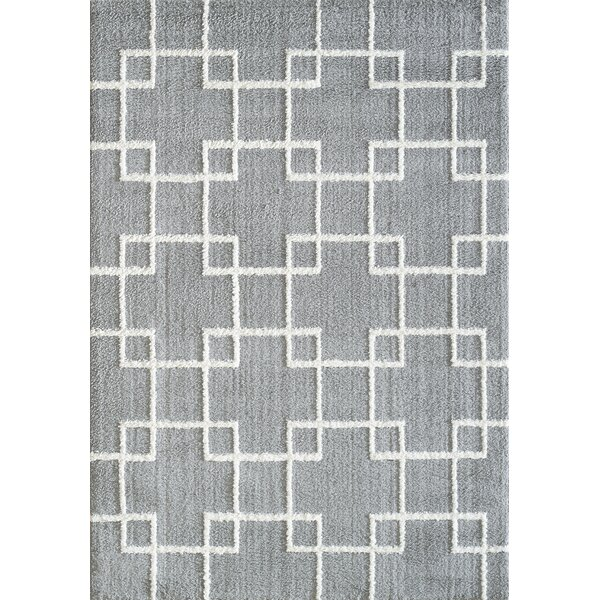 Kempf Silver Area Rug by Mercer41