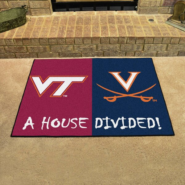 House Divided - Virginia Tech / Virginia Doormat by FANMATS