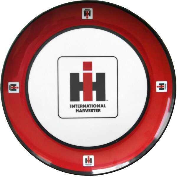 International Harvester Melamine Plate (Set of 4) by MotorHead Products