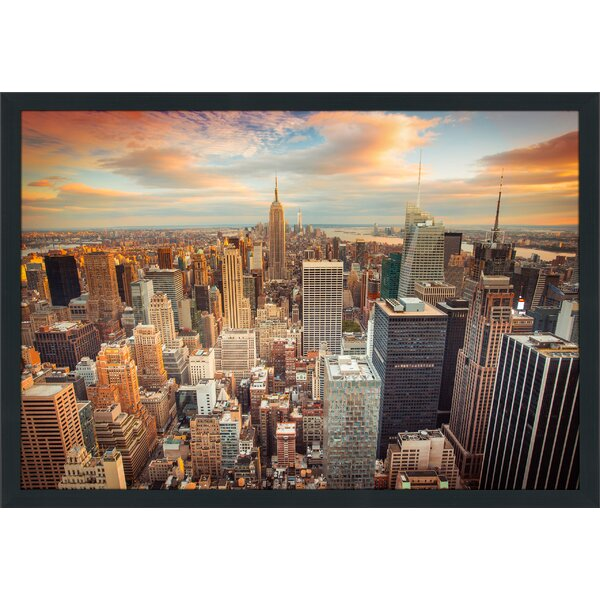 New York City Framed Photographic Print by Picture Perfect International