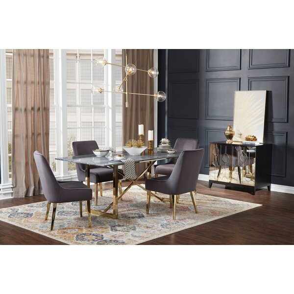 Shute 5 Piece Dining Set by Everly Quinn Everly Quinn