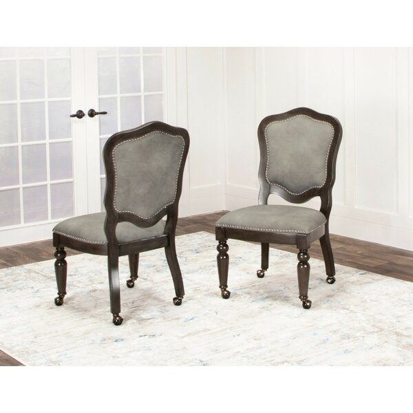 Oroville Upholstered Dining Chair (Set Of 2) By Canora Grey