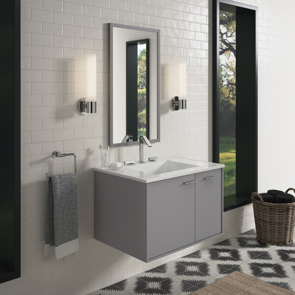 Jute™ 30 Wall-Mounted Single Bathroom Vanity Set by Kohler