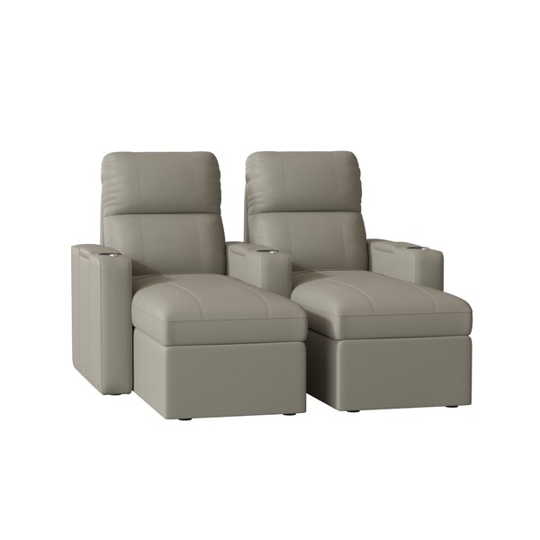 Home Theater Loveseat (Row Of 2) By Red Barrel Studio®