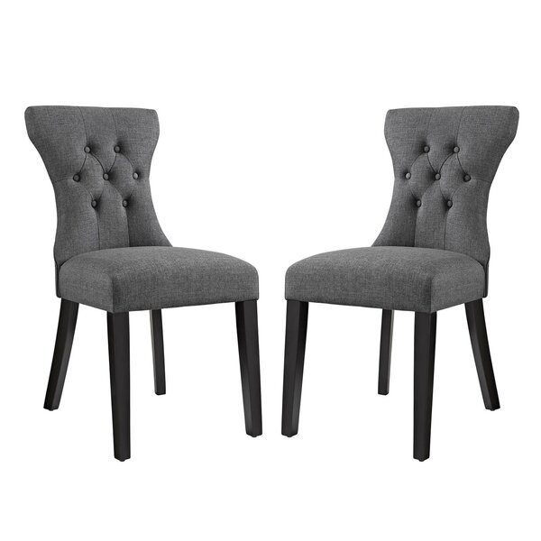 Bromborough Upholstered Dining Chair (Set of 2) by House of Hampton