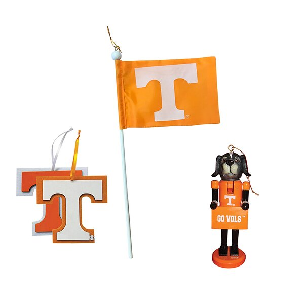 4 Piece Tennessee Ornament Set by Santa's Workshop