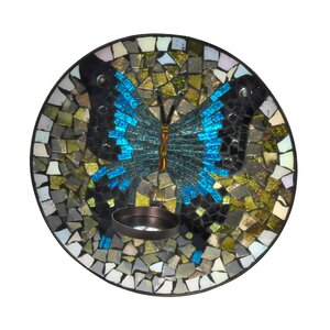 Mosaic Glass Sconce