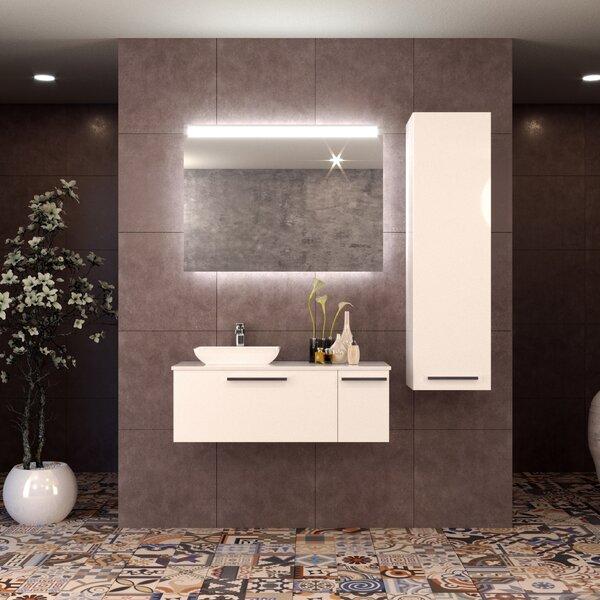 Westphalia 47 Single Bathroom Vanity Set with Mirror by Orren Ellis