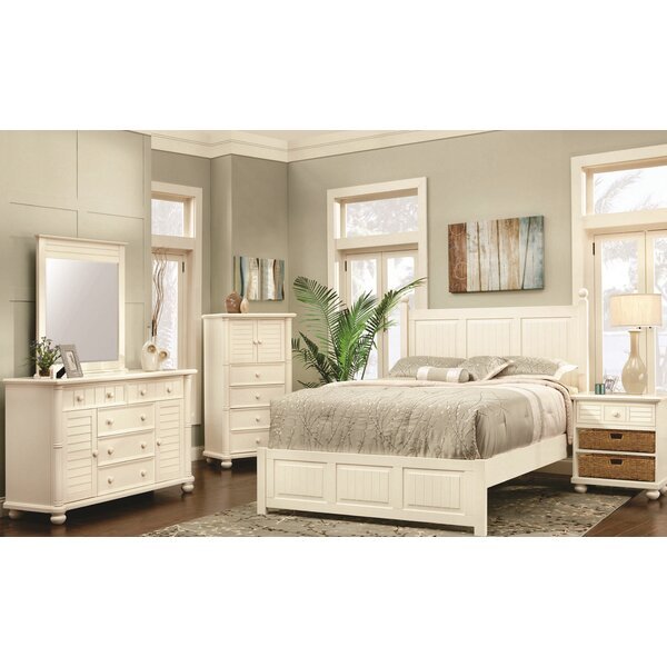Coutee Queen Panel 5 Piece Bedroom Set by Rosecliff Heights