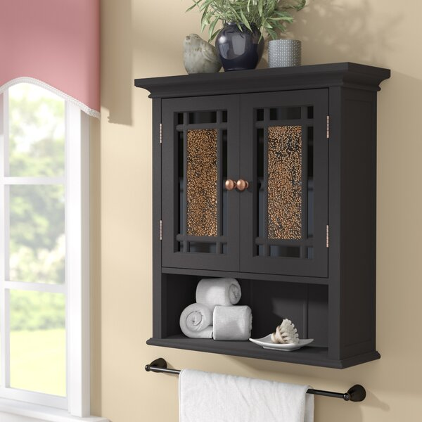 Caleb 22 W x 24 H Wall Mounted Cabinet by Alcott Hill