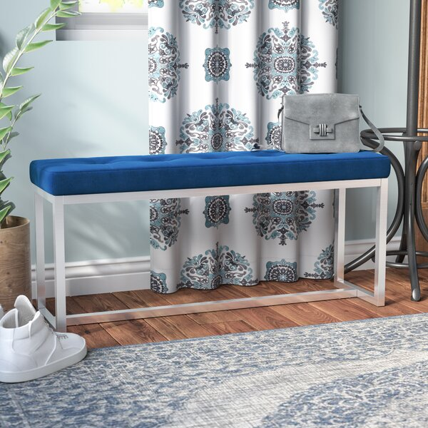 Mineral Metal Bench by Bungalow Rose