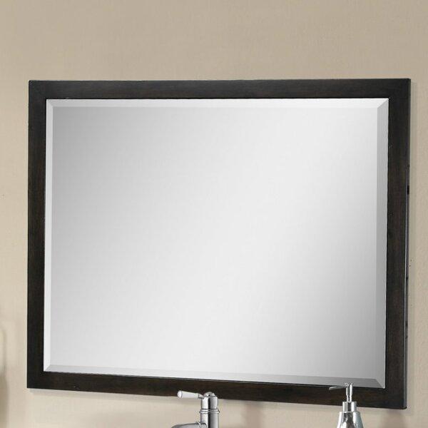 Larabee Rectangle Beveled Edged Wall Mirror by Latitude Run